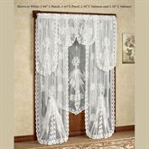 Victorian Bustle Tailored Lace Panel