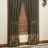Browning(R) Whitetails Curtain Pair Multi Warm 84 x 84