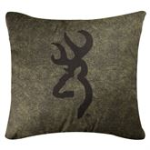 Browning(R) Whitetails Square Pillow Multi Warm 20 Square