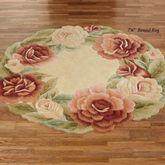 Garland Rose Round Rug