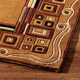 DS Inlaid Border Rug Gold