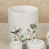 Love Nest Wastebasket Ivory