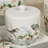 Love Nest Covered Jar Ivory