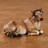 Ox Figurine Multi Warm