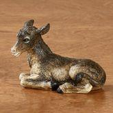 Donkey Figurine Multi Warm