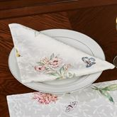 Butterfly Meadow Napkins White Set of Four