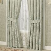 Villa Verde Tailored Curtain Pair Celadon