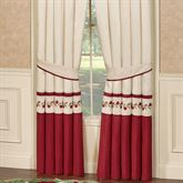 Briar Rose Tailored Curtain Pair Champagne 96 x 84