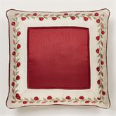 Briar Rose European Pillow with Sham Champagne