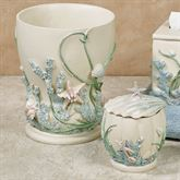 Shimmer Reef Covered Jar Multi Pastel