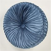 Arabelle Tufted Pillow Blue Round