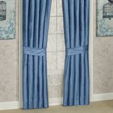 Arabelle Solid Color Curtain Pair Blue
