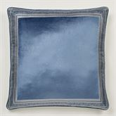 Arabelle European Pillow with Sham Blue