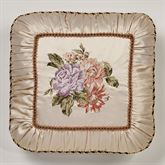 Forever Embroidered Pillow Champagne 18 Square