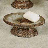Monaco Soap Dish Antique Silver