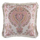 Giulietta Flanged Pillow Light Almond 18 Square