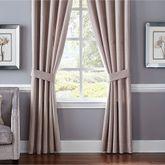 Giulietta Tailored Curtain Pair Light Almond 82 x 84