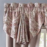 Giulietta Circle Valance Light Almond 42 x 24