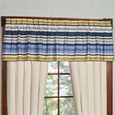 Beaufort Tailored Valance Blue 84 x 18