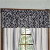 St. Clair Tailored Valance Midnight Blue 84 x 18