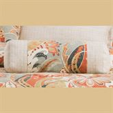 Contempo Pieced Tailored Pillow Multi Warm Neckroll