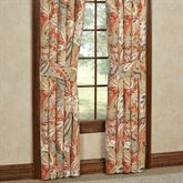 Contempo Wide Tailored Curtain Pair Multi Warm