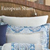 Lainey Tailored Sham Blue European
