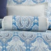 Lainey Tailored Pillow Blue Neckroll