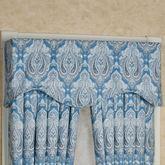Lainey Shaped Valance Blue 52 x 17