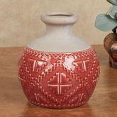 Southwest Carrafa Vase Brick