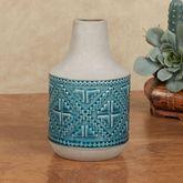 Southwest Carrafa Vase Aqua