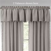 Findlay Semi Sheer Tailored Valance 52 x 14