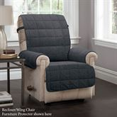 Ridgely Furniture Protector Charcoal Recliner/Wing Chair