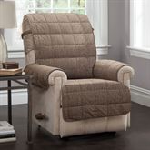 Ridgely Furniture Protector Light Chocolate Recliner/Wing Chair