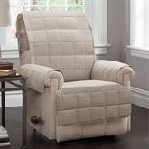 Ridgely Furniture Protector Natural Recliner/Wing Chair