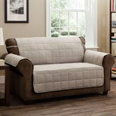 Ridgely Furniture Protector Natural Loveseat