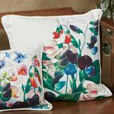 Sweet Pea Decorative Pillow Multi Bright 18 Square