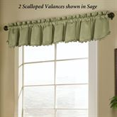 Blackstone Blackout Scalloped Valance 54 x 15