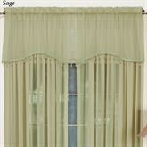 Mystic Shimmer Scalloped Valance 52 x 18