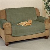 Microplush Pet Furniture Loveseat Cover