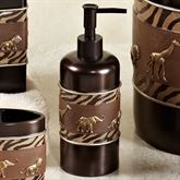 Animal Parade Lotion Soap Dispenser Brown