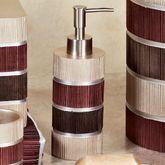 Modern Line Burgundy Lotion Soap Dispenser