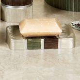 Modern Line Sage Soap Dish
