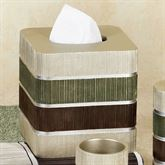 Modern Line Sage Tissue Cover