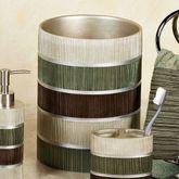 Modern Line Sage Wastebasket