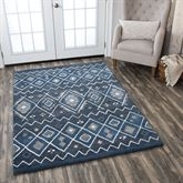 Adriatic Rectangle Rug Denim