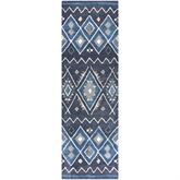 Adriatic Rug Runner Denim 26 x 8