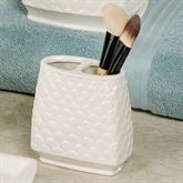 Atlantis Brush Holder Light Cream