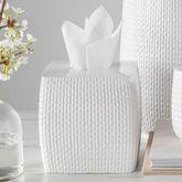Juno Tissue Cover Off White