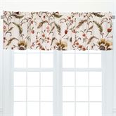 Autumn Bloom Valances Multi Warm Set of Two